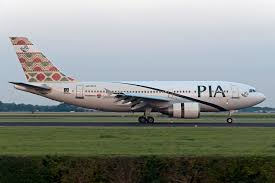 PIA aircraft Pakistan International Airlines